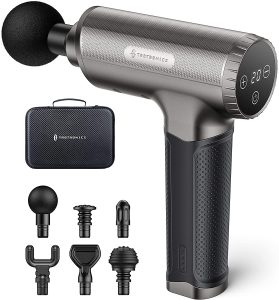 Taotronics 3200rpm/min Massage Gun for Deep Tissue, 20 Speeds