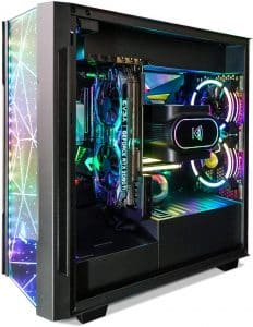 Segotep Phoenix ATX Tempered Glass Black PC Gaming Mid Tower Computer Case