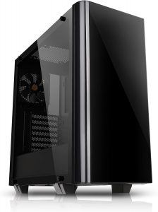 Thermaltake CA-1I3-00M1WN-00 View 21 Dual Tempered Gaming mid-Tower PC Case