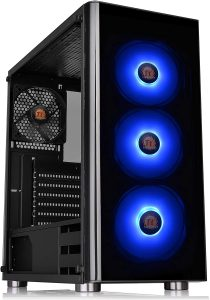 Thermaltake V200 Mid-Tower Chassis Tempered Glass RGB Edition with RGB Fan