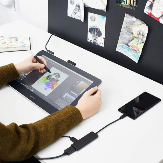 Drawing Tablet with Screen and Pen
