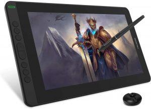 HUION2020 KAMVAS 13.3 inch Pen Display Graphics Drawing Tablet, Black