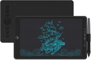 Huion Inspiroy Ink Dual-Purpose LCD H320M Drawing Tablet (Quartz Black)