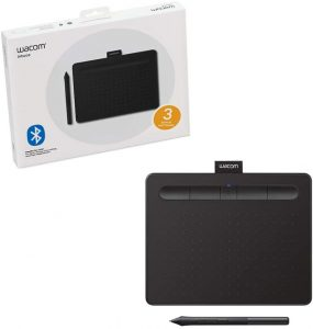 Wacom CTL4100WLK0 7.9 inches X 6.3 inches Intuos Drawing Tablet