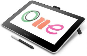 Wacom DTC133W0A 13.3 Inch Digital Drawing Tablet for Art Beginners