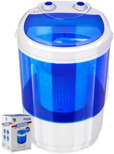DENSORS Portable Single Tub Washer for Undergarments and Small Clothes