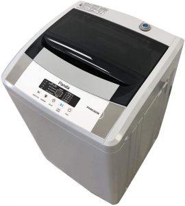 Panda PAN6360W Compact 1.54 cu.ft Portable Washing Machine, Gray