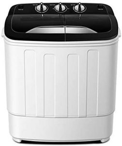 Think Gizmos TG23 Portable Washing Machine with 4.4lbs Spin Cycle