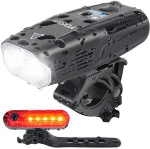 Yosky USB Rechargeable Bike Light Set