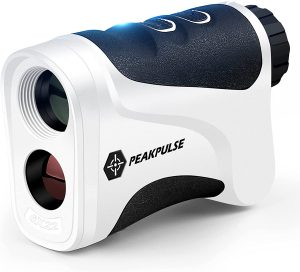 PEAKPULSE Golf Laser Rangefinder 6X Magnification with Flag Acquisition