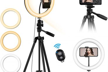 Tripod Stand For Camera with Light